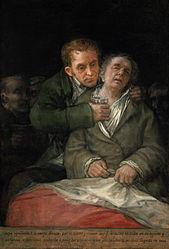 Francisco Goya: Goya curato dal dottor Arrieta