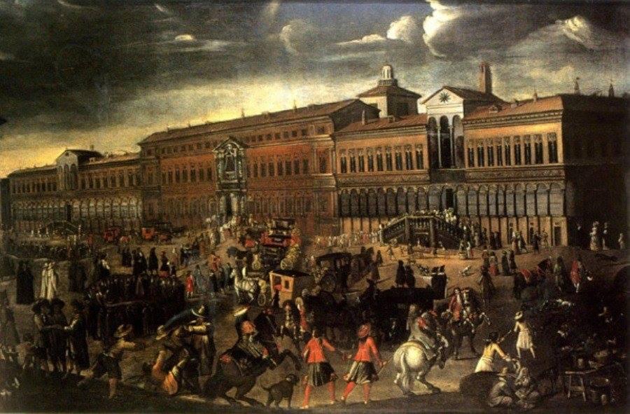 L'Ospedale_Maggiore_di_Milano_nel_giorno_della_Festa_del_Perdono_(fine_del_XVII_secolo)
